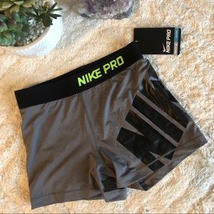 Nike dry fit pro workout shorts